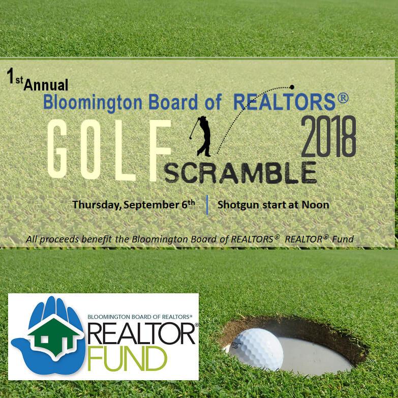 1st Annual Bloomington Board Of REALTORS® Golf Scramble