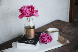 Staging Your Home - Picture of Table and Book