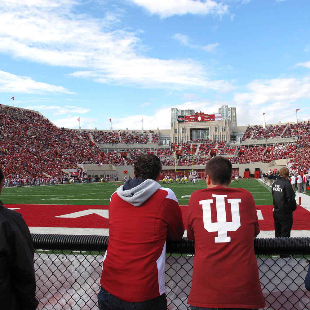 Memorial Stadium at Indiana University