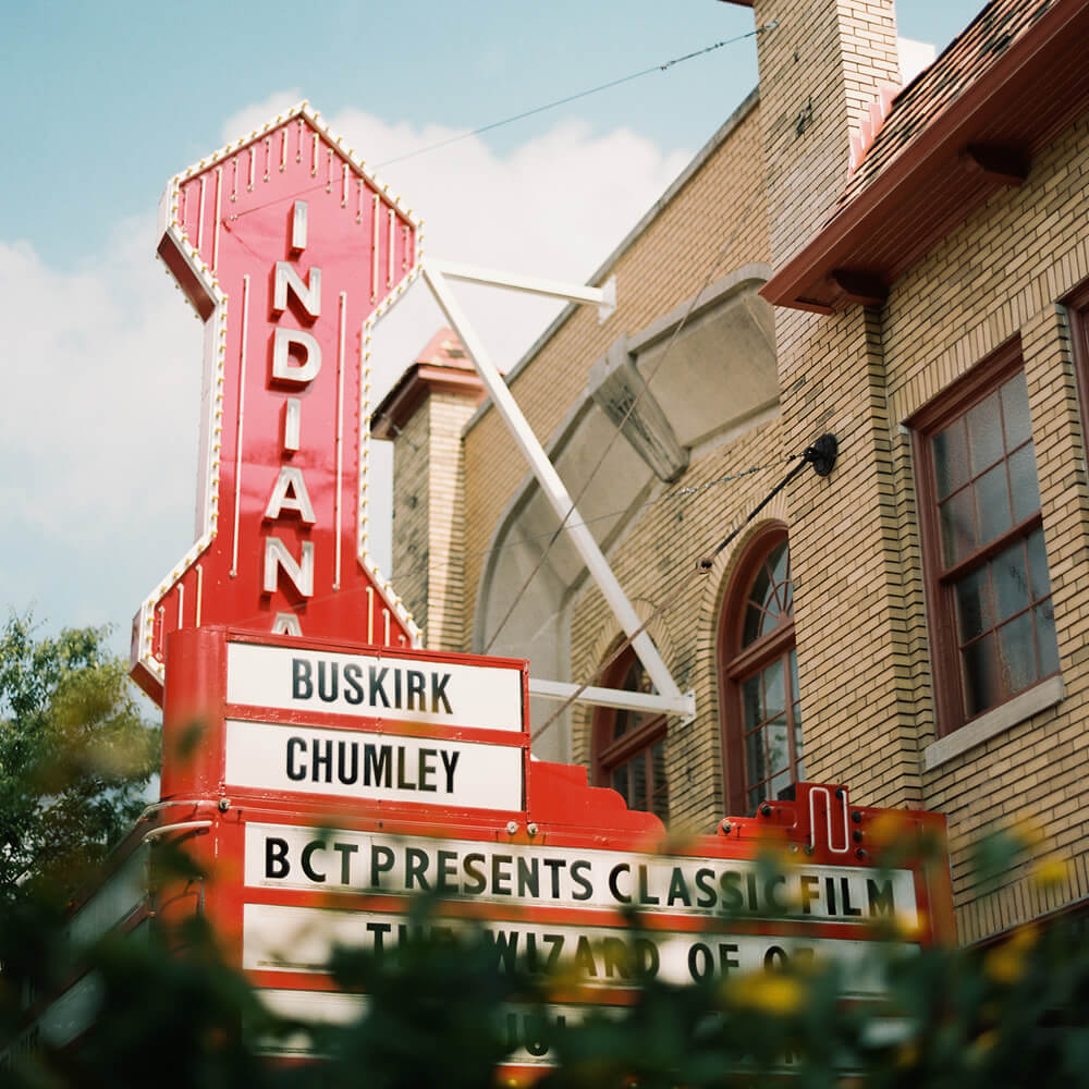 The Buskirk-Chumley Theatre in Bloomington, Indiana