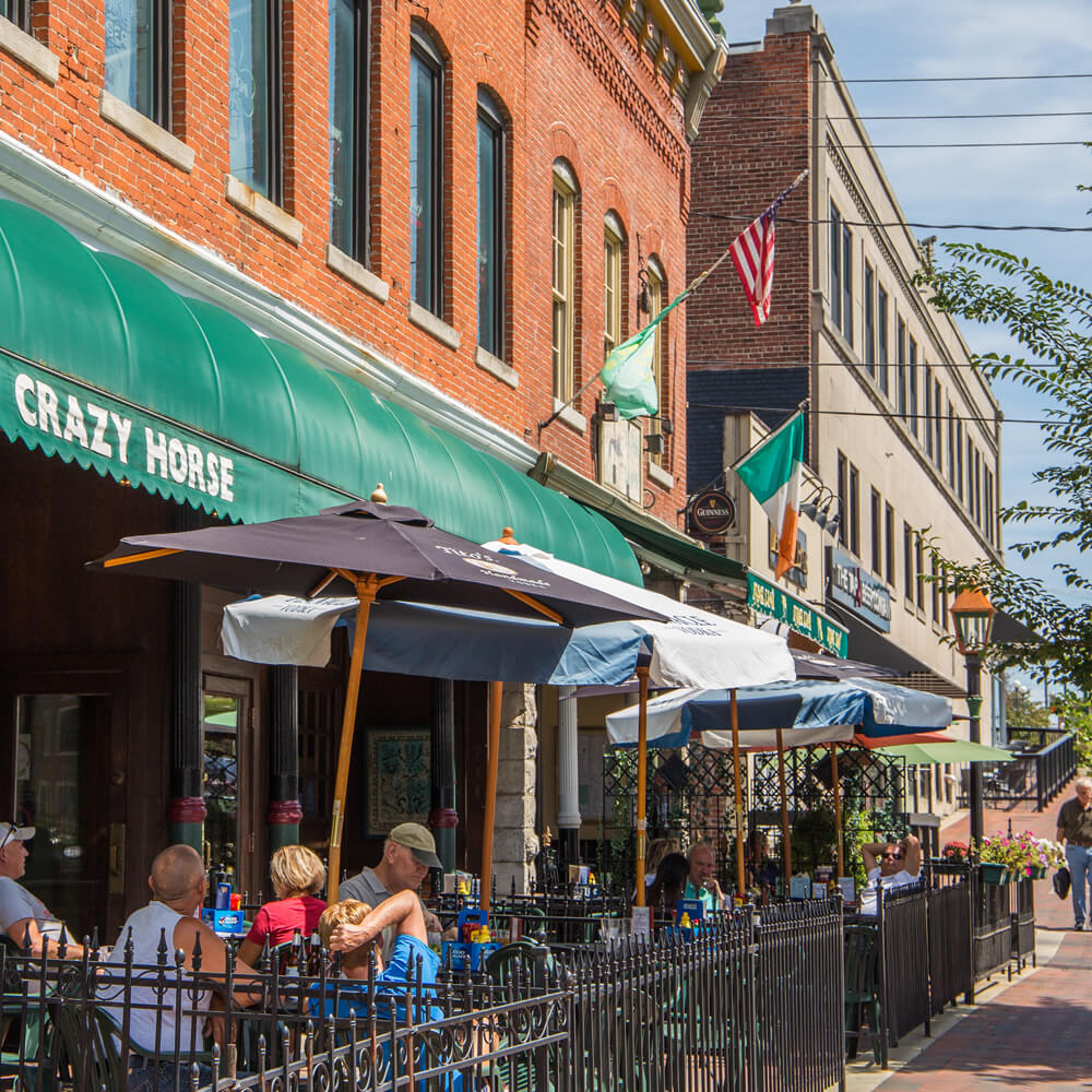 Downtown restaurants in Bloomington