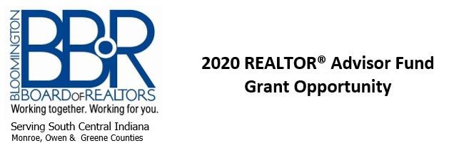 2020 REALTOR® Advisor Fund Grant Opportunity